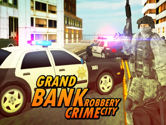 Bank Robbery - crime city police shooting 3D free-ipad-2