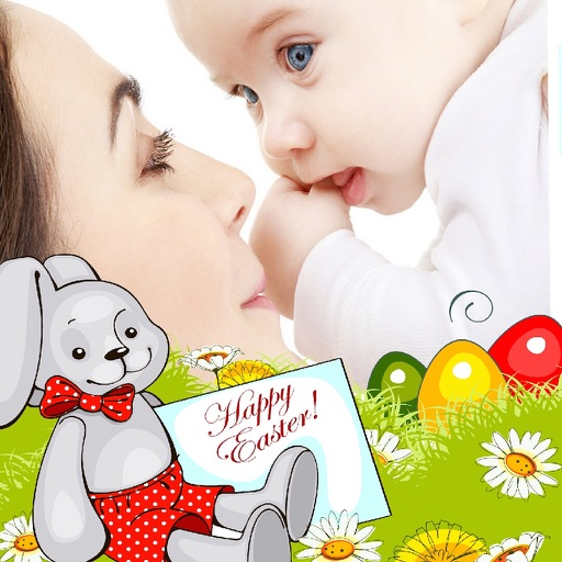 Easter Photo Frames and Stickers
