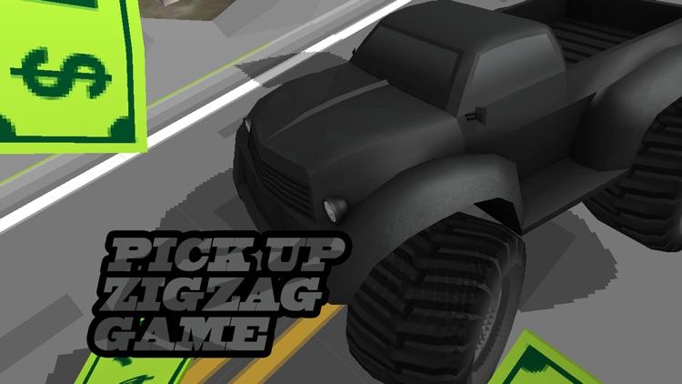 3D Zig-Zag  Offroad Racer -  Escape Asphalt Car with Fast Run Lane