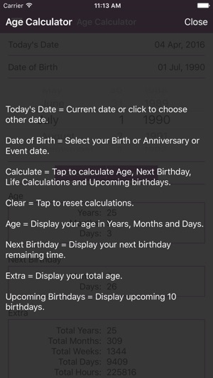 Age Calculator - Calculate Age on the App Store