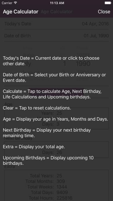 Age Calculator - Calculate Age by girish chovatiya (iOS, United
