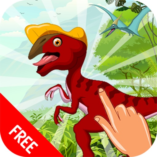Dinosaur Train & Sounds Fun Dino JigSaw Puzzle Game for Toddler & Preschool Kids | Educational Games for Children 3 4 5 6 Years Free !!! iOS App