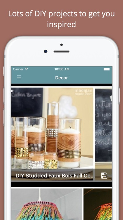 DIY Decor Project Ideas screenshot-0