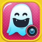 Quick Text on Photo Editor- Add Cute Stickers and Write Captions in Colorful Ghost Frames icon