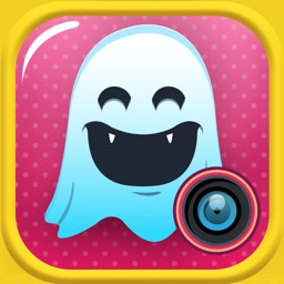 Quick Text on Photo Editor- Add Cute Stickers and Write Captions in Colorful Ghost Frames