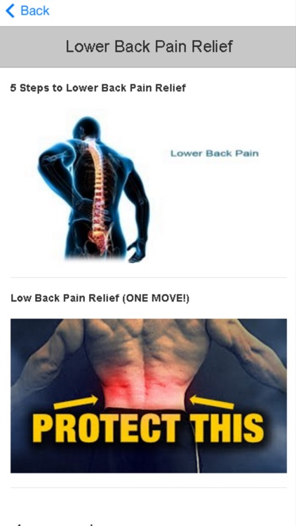 How to Relieve Back Pain - Tips and Guidelines screenshot-4