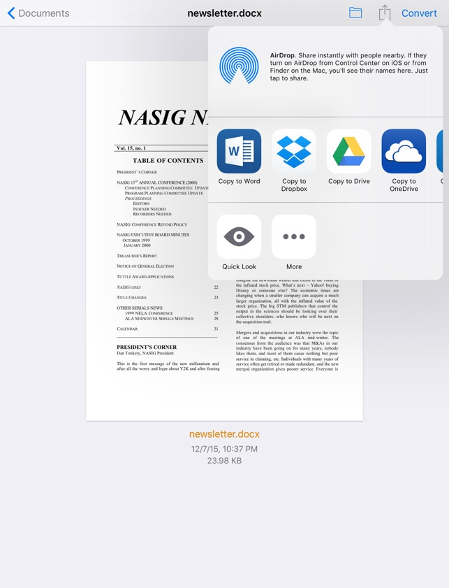 easyPDF - PDF to Word on the App Store