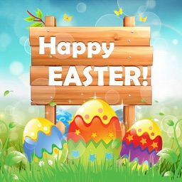 Easter Photo Sticker.s Editor - Bunny, Egg & Warm Greeting for Holiday Picture Card