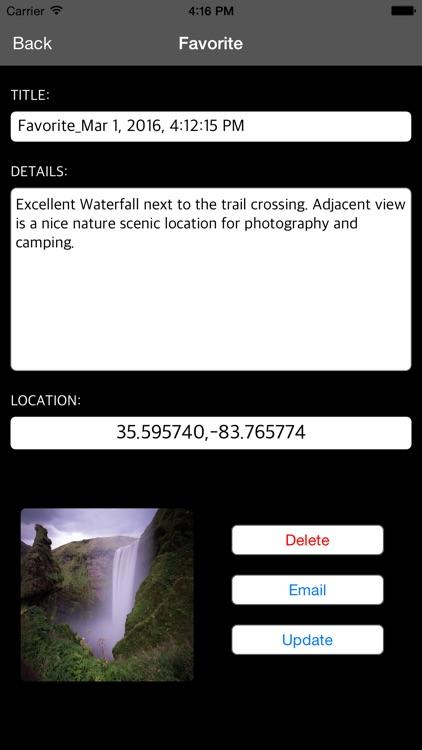 Glacier National Park – GPS Offline Park Map Navigator screenshot-3