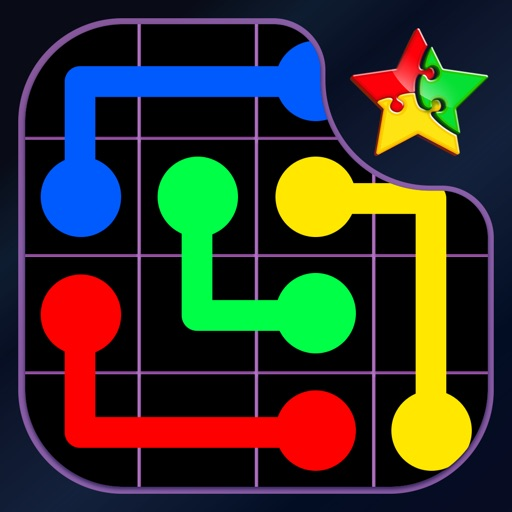 Color Connect ~ connect the dots and match each colour puzzle icon