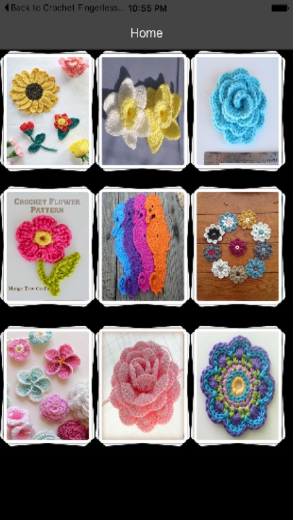 Crochet Flower Patterns screenshot-1