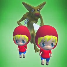 Activities of Little Red Cap Twins - Endless Double Runner Game
