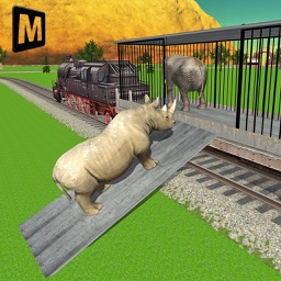 Transport Train Driver : Zoo Animals