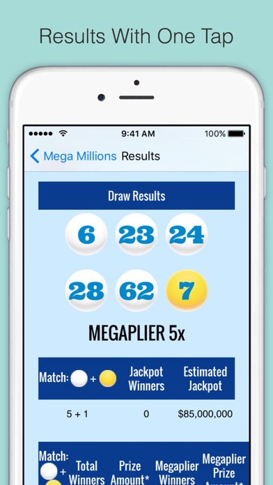 Get Lucky Free, Lottery Number Generator | App Price Drops