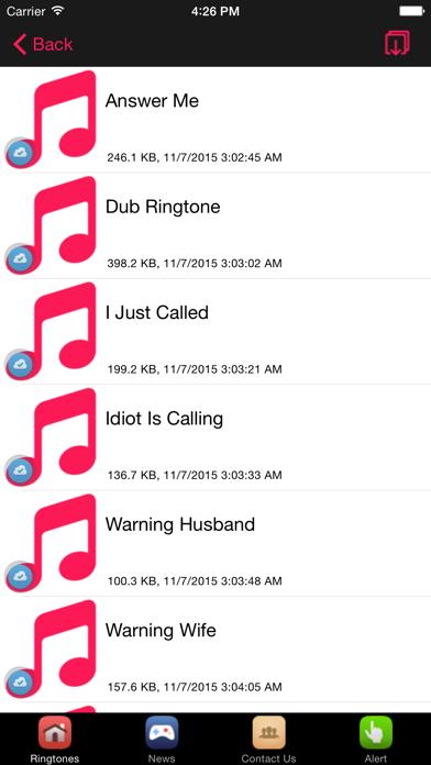 Funny Ringtones #1 Laugh Ringtones screenshot one