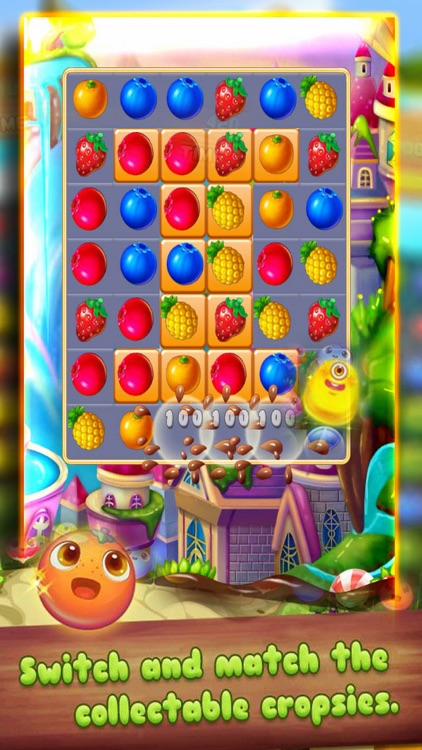 Story Fruits Garden Star:Puzzle Match