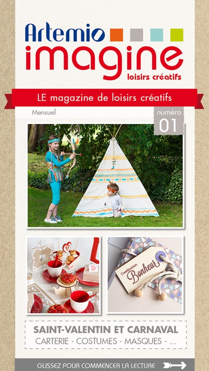 Artemio Imagine - Magazine DIY