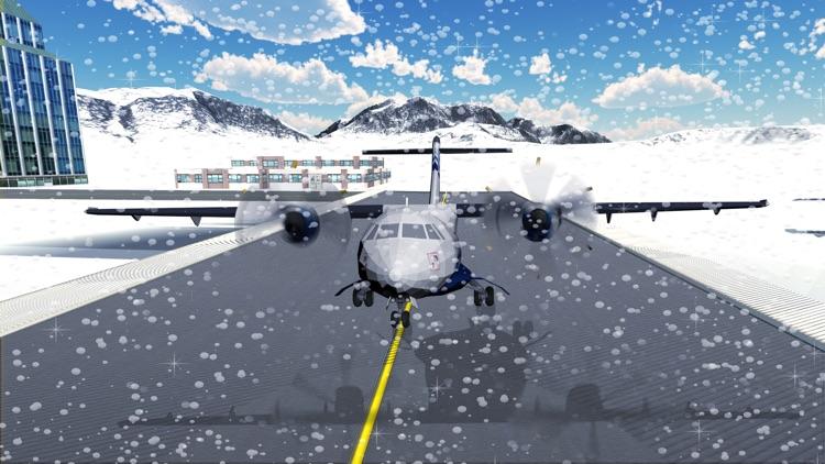 Snow Airplane Landing Simulation – Extreme Emergency Crash Landings screenshot-3