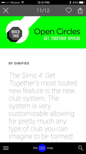 The Sims Magazine on the App Store