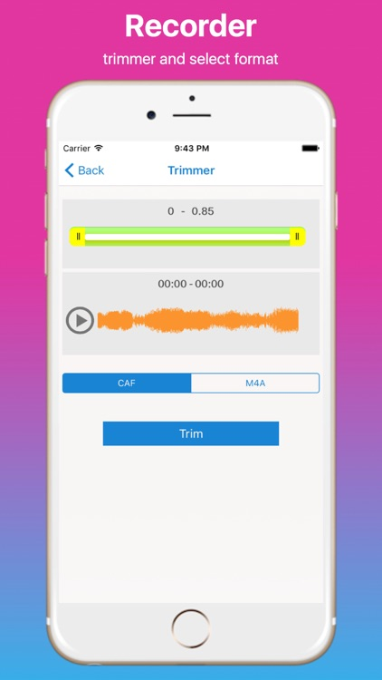 Unlimited Voice iRecorder screenshot-1