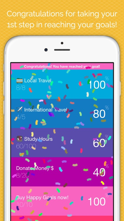 Happy Goals - Habits & Goal Tracker screenshot-4