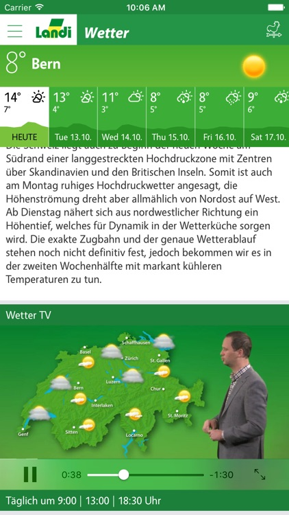 LANDI Wetter screenshot-1