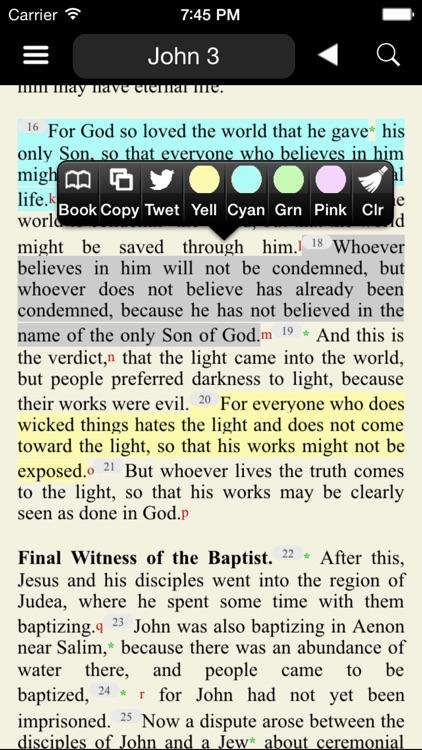Catholic New American Bible RE screenshot-4