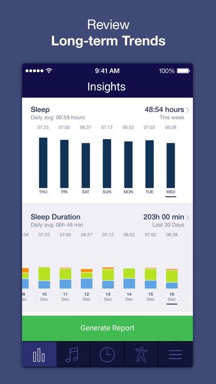 Sleep Time+ : Sleep Cycle Smart Alarm Clock, Sleep Tracker with Sleep Cycle Analysis and Soundscapes for Better Sleep screenshot-3