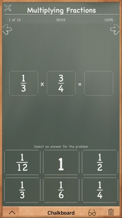 MathBoard Fractions screenshot-3