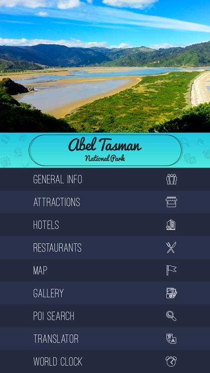 Abel Tasman National Park Travel Guide screenshot-1