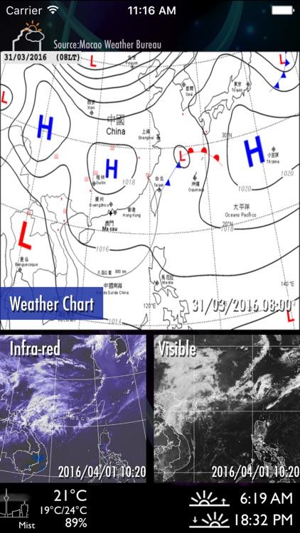 Macau Weather Report screenshot-3
