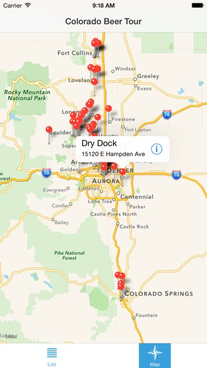Colorado Beer Tour on the App Store