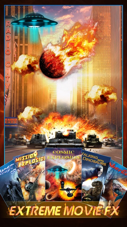 Extreme Movie FX Pro - Hollywood Style Special Effect.s Creator & Super.impose Sticker Editor
