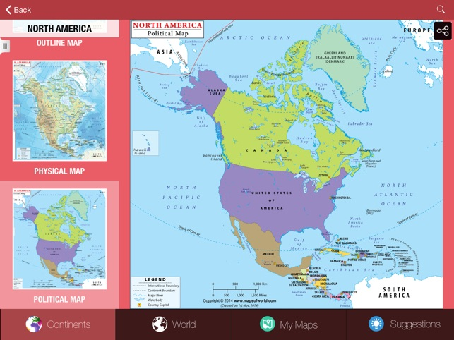 My World Atlas Lite on the App Store