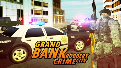 Bank Robbery - crime city police shooting 3D free-2
