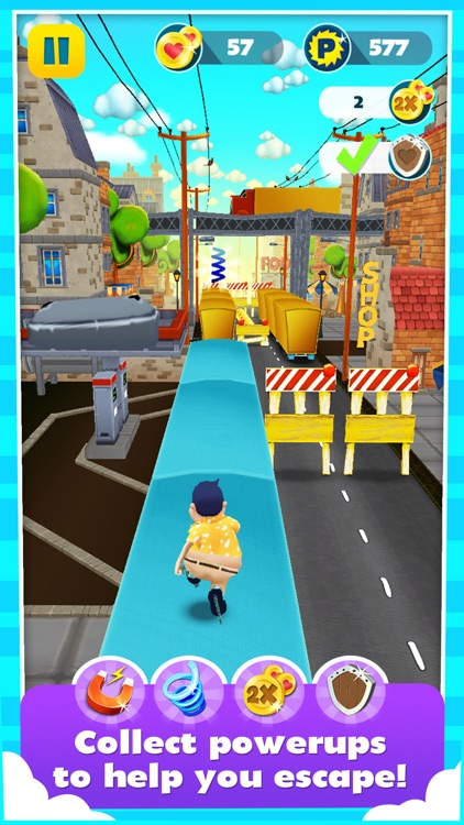 Run Ron Run - 3D Street Dash Runner In Endless Fun Love Adventure screenshot-3
