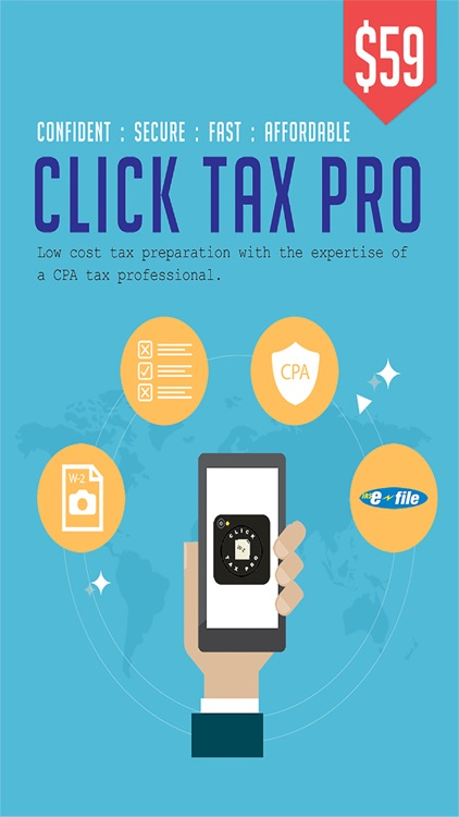 Click Tax Pro-Federal and State Tax Prep