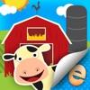 动物贴纸儿童农场活动场景生成器