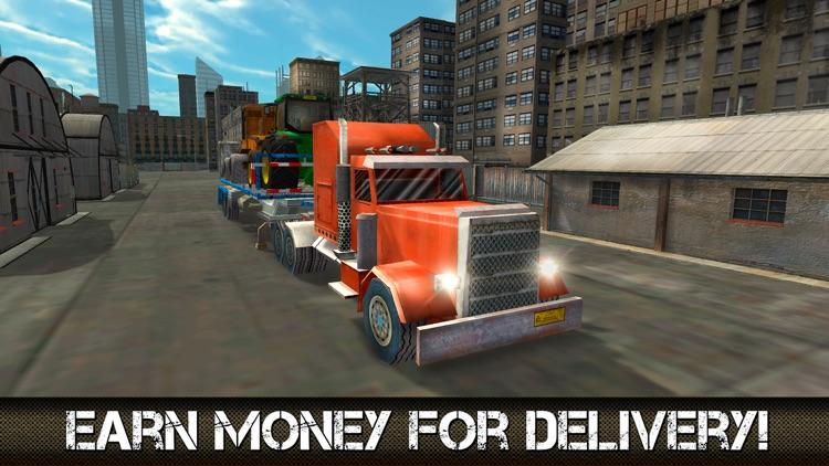 Great American Cargo Trucks: Driving Simulator 3D