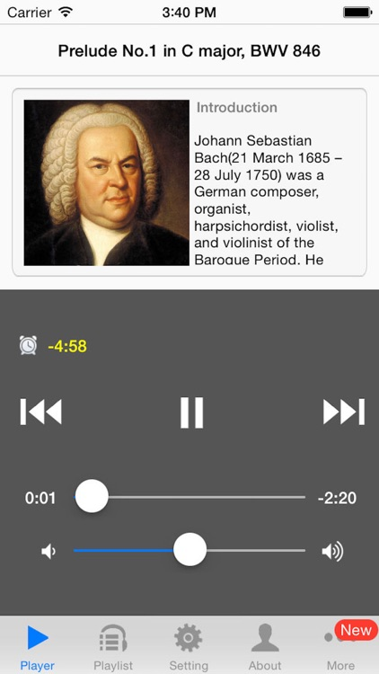 Well Tempered Clavier by Bach