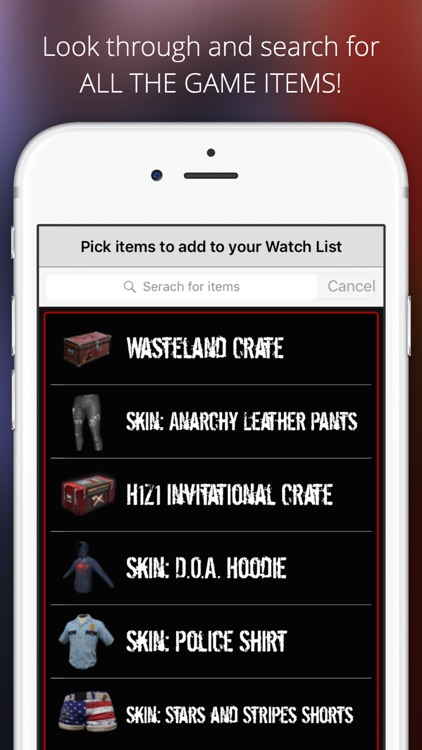 Market Monitor for H1Z1 : King of the Kill screenshot-4