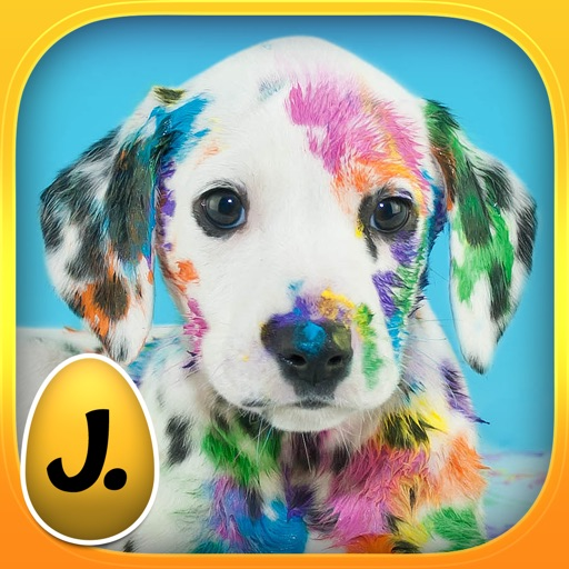 Happy Easter: Funny Animals - puzzle game for little girls, little boys and preschool kids - Free