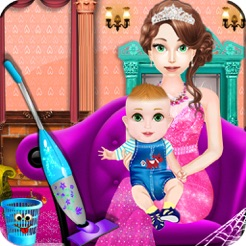 Princess Baby Room Cleaning Games For Girls 4+