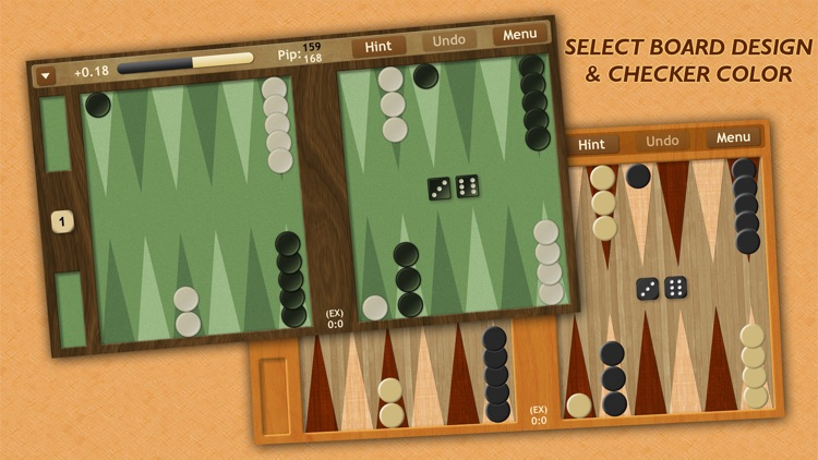 Backgammon NJ HD screenshot-1