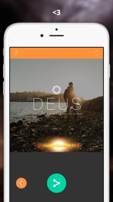 点击获取Personalize suas fotos com cartões e filtros com lindas palavras de Deus e Jesus