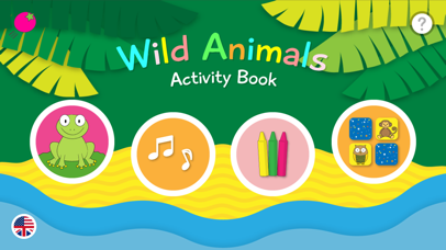 Top 10 Apps like Wild Animals - Activity Book in 2019 for iPhone & iPad