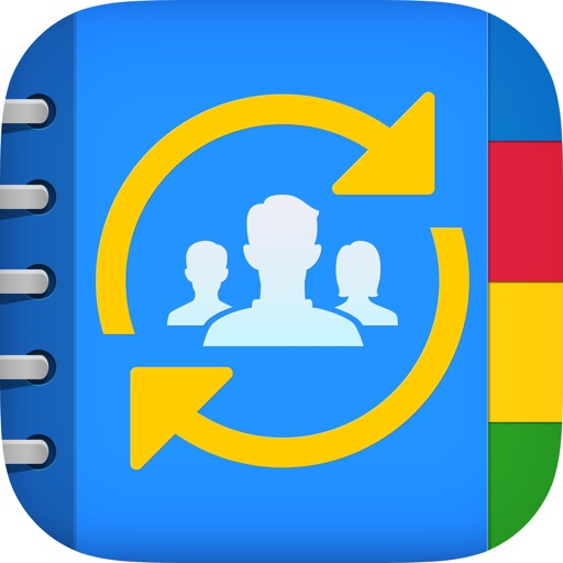 Contact Mover & Account Sync for Exchange, Outlook, iCloud, Gmail, Facebook, & Yahoo Email app logo