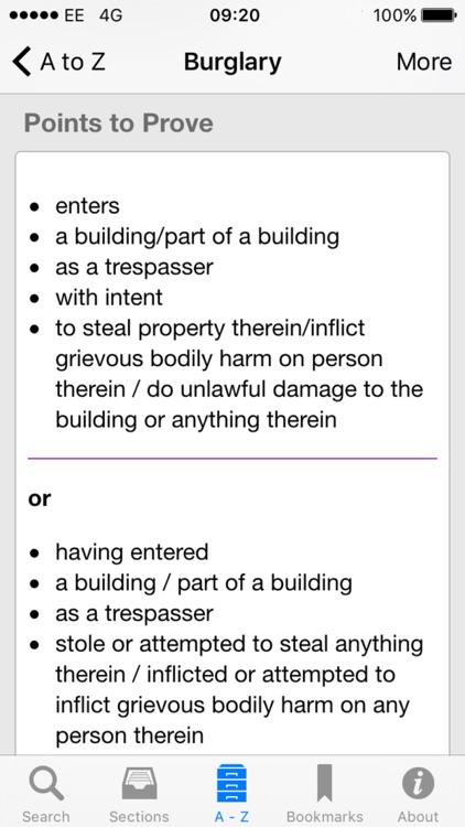iPlod - Police Pocket Guide screenshot-3