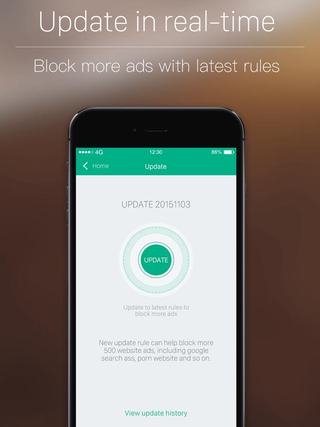 Umbra - Ad Blocker for Safari Browser, Best Free Content & Ads Block Extension Screenshot