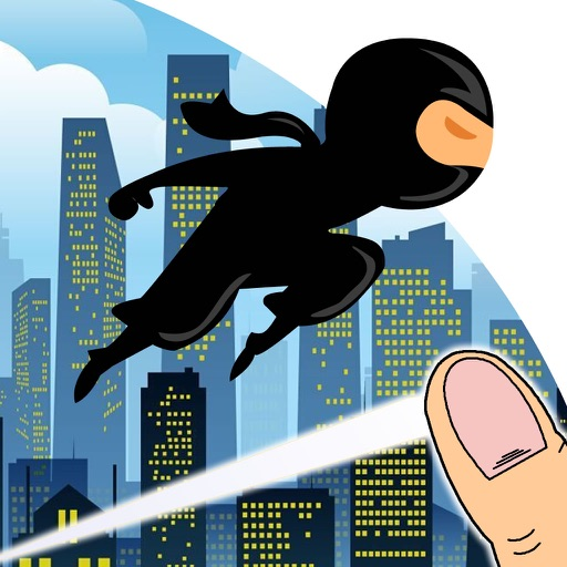 Clash Master Genius Ninja - Run, Jump and Fly in the Dark City